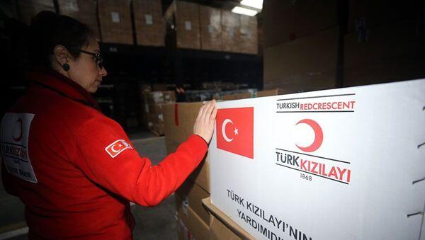 Türk Kızılayı'ndan Venezüella'ya 100 bin dolarlık ilaç yardımı - Sputnik Türkiye