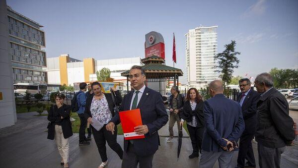 Atatürkçü Düşünce Derneği Genel Başkanı Hüseyin Emre Altınışık  - Sputnik Türkiye
