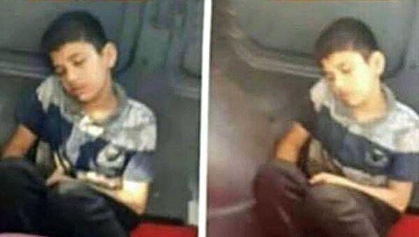 Üzeri kirli diye minibüste koltuğa oturtulmayan 12 yaşındaki Muhammed H. - Sputnik Türkiye