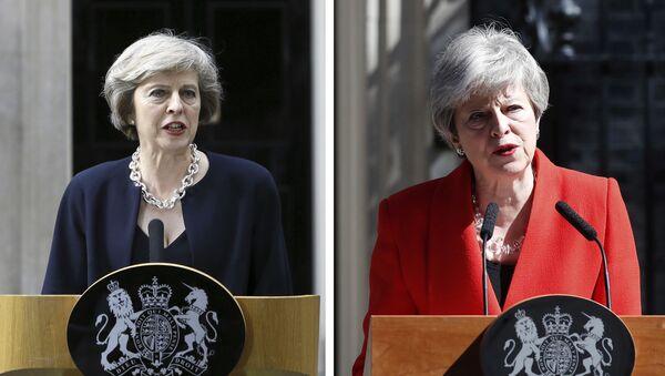 Theresa May'in başbakan olduğu 13 Temmuz 2016 ile istifasını duyurduğu 24 Mayıs 2019 - Sputnik Türkiye