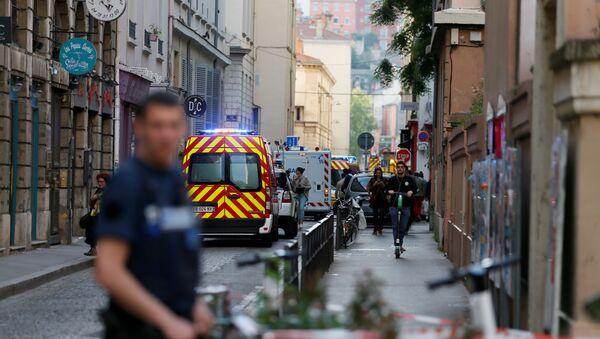 Fransa'nın Lyon kentinde patlama meydana geldi. İlk belirlemelere göre olayda 8 kişi yaralandı. - Sputnik Türkiye