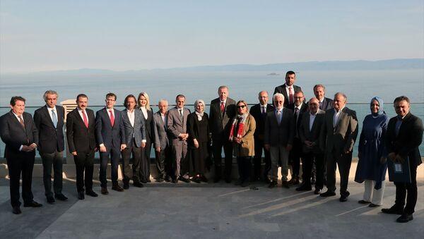 Cumhurbaşkanı Erdoğan'ın Yassıada ziyareti - Sputnik Türkiye
