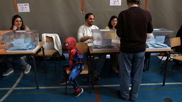 İspanya Avrupa Parlamentosu (AP), yerel belediye ve özerk yönetim parlamentosu seçimleri - Sputnik Türkiye
