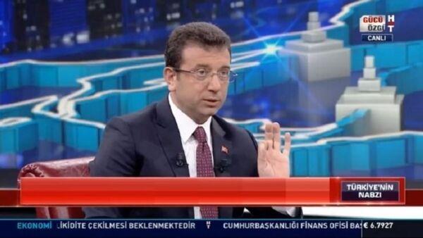 Ekrem İmmaoğlu, Habertürk - Sputnik Türkiye