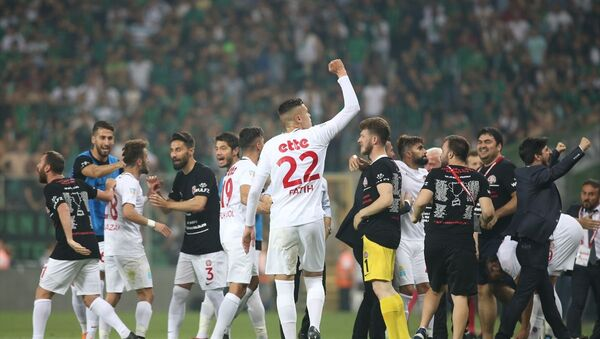 Fatih Karagümrük, Spor Toto 1. Lig'e yükseldi - Sputnik Türkiye