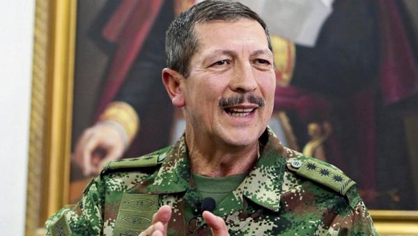 Kolombiya Kara Kuvvetleri Komutanı Nicacio de Jesus Martinez Espinel - Sputnik Türkiye