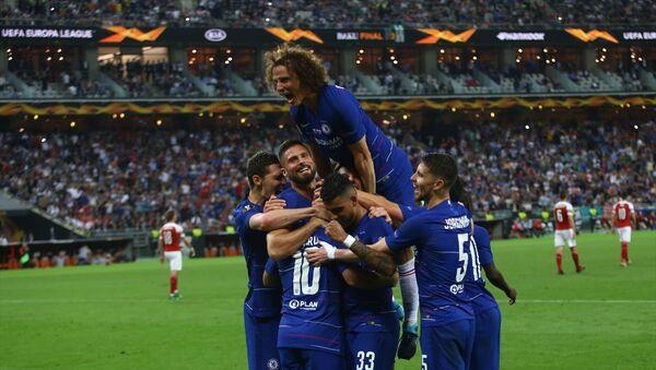 Chelsea, UEFA Avrupa Ligi şampiyonu oldu - Sputnik Türkiye