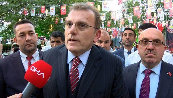 Adalet Partisi Genel Başkanı Vecdet Öz - Sputnik Türkiye