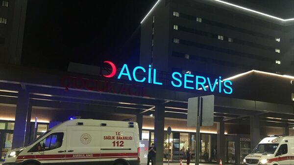 Acil servis - Ambulans - Sputnik Türkiye