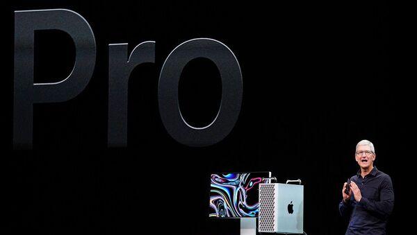 Apple, yeni Mac Pro'yu tanıttı - Sputnik Türkiye