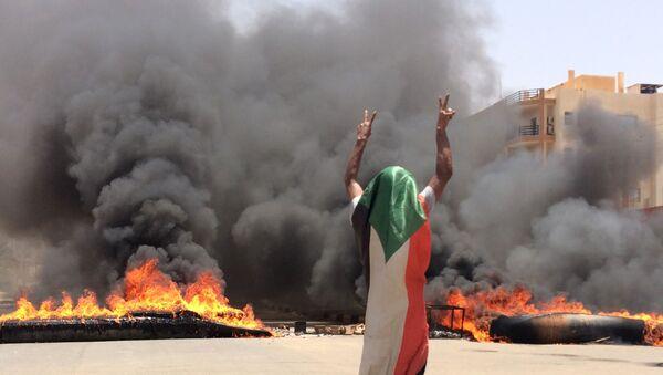 Sudan'da protestolar - Sputnik Türkiye