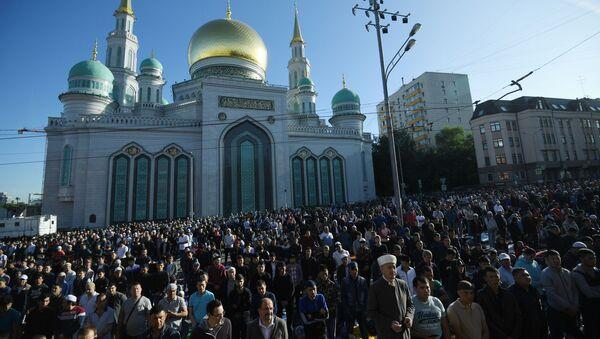 Dünyada Ramazan Bayramı kutlamaları - Sputnik Türkiye