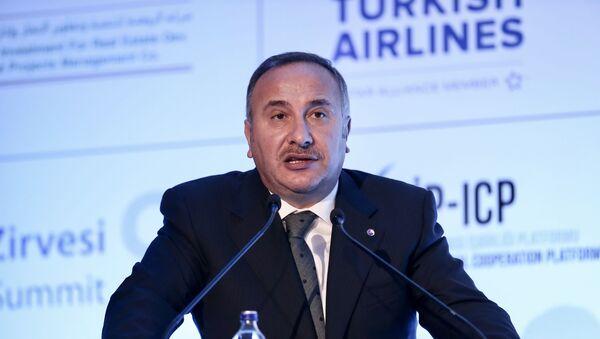 İstanbul Ticaret Borsası Başkanı ve Türkiye Odalar ve Borsalar Birliği (TOBB) Başkan Yardımcısı Ali Kopuz - Sputnik Türkiye