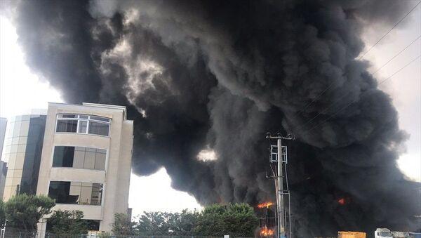 Kocaeli, fabrika, yangın - Sputnik Türkiye