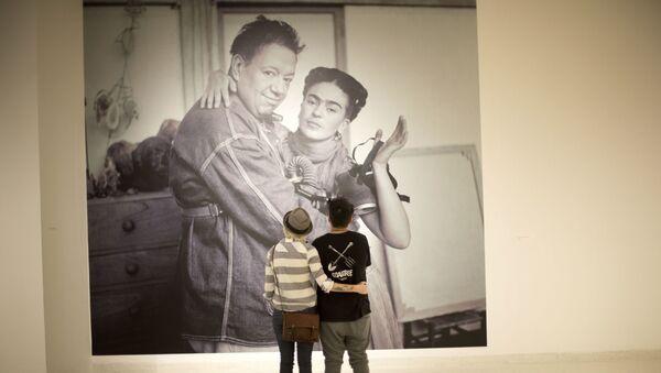 Meksikalı ressam Frida Kahlo ve Diego Rivera - Sputnik Türkiye