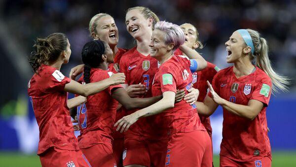 ABD Kadın Futbol Takımı - Sputnik Türkiye