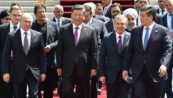 ŞİÖ'den ortak deklarasyon - Sputnik Türkiye