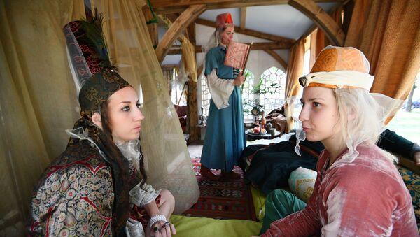 Zamanlar ve Çağlar Festivali'nde Osmanlı alanı - Sputnik Türkiye