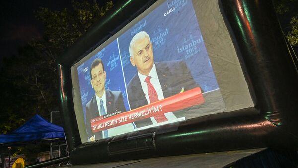 Binali Yıldırım - Ekrem İmamoğlu - Sputnik Türkiye