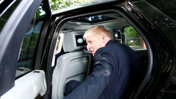 İngiltere eski Dışişleri Bakanı Boris Johnson - Sputnik Türkiye