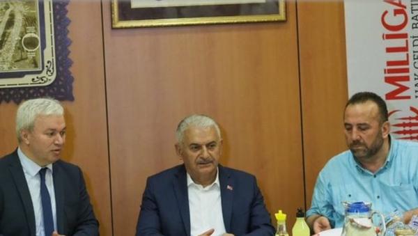 Binali Yıldırım - Sputnik Türkiye