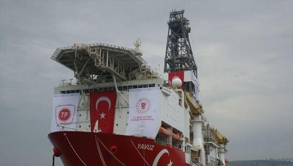 Yavuz Sondaj Gemisi Uğurlama Programı - Sputnik Türkiye