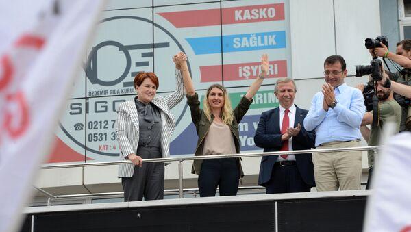 Meral Akşener, Dilek İmamoğlu, Mansur Yavaş, Ekrem İmamoğlu - Sputnik Türkiye