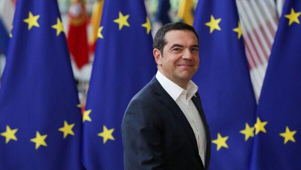 Yunanistan Başbakanı Aleksis Çipras - AB zirvesi - Sputnik Türkiye