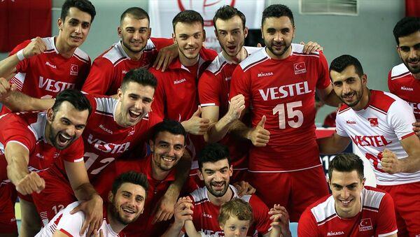 Türk A Milli Erkek Voleybol Takımı şampiyon oldu - Sputnik Türkiye