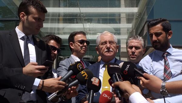 YSK Başkanı Sadi Güven - Sputnik Türkiye
