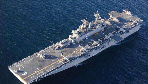 MV-22 Osprey taburu taşıyan USS Boxer - Sputnik Türkiye
