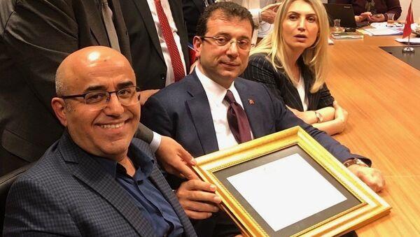 Necati Özkan - Ekrem İmamoğlu - Sputnik Türkiye