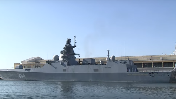 Amiral Gorşkov fırkateyni - Sputnik Türkiye