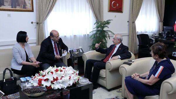 CHP, Kılıçdaroğlu, TBMM - Sputnik Türkiye