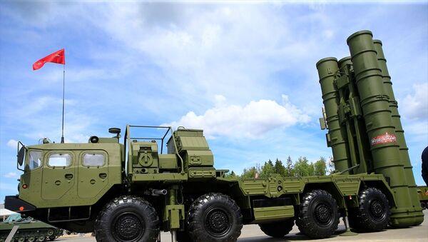 S-400, ARMY-2019 - Sputnik Türkiye