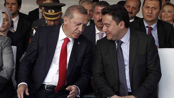 Ali Babacan, Recep Tayyip Erdoğan - Sputnik Türkiye