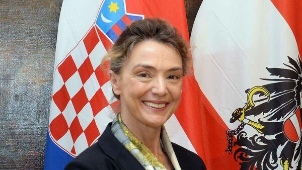 Türkiye'nin de üyesi olduğu Strazburg merkezli Avrupa Konseyinin Genel Sekreterliğine Hırvatistan Dışişleri Bakanı Marija Pejcinovic Buric seçildi. - Sputnik Türkiye