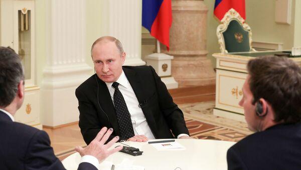 Vladimir Putin, Financial Times, röportaj - Sputnik Türkiye