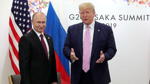 Vladimir Putin- Donald Trump - Sputnik Türkiye