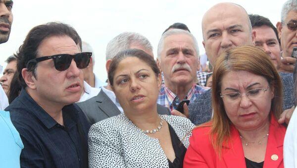 Fazıl Say, Canan Kaftancıoğlu'nun davasını izleyenler arasındaydı. - Sputnik Türkiye