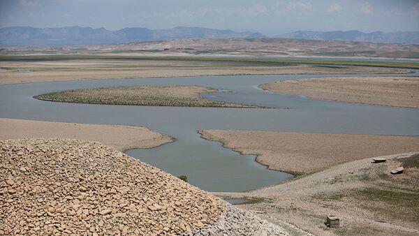 Irak'ta Dicle Nehri üzerindeki Musul Barajı - Sputnik Türkiye