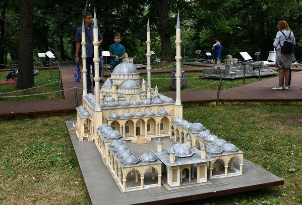 Moskova'daki parkta 'Minyatür Rusya' sergisi - Sputnik Türkiye