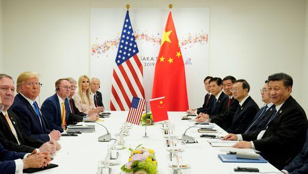 Donald Trump- Şi Cinping - Sputnik Türkiye