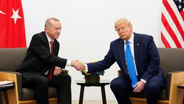 Recep Tayyip Erdoğan- Donald Trump - Sputnik Türkiye