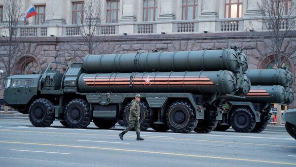 Moskova'daki geçit töreninde S-400 - Sputnik Türkiye