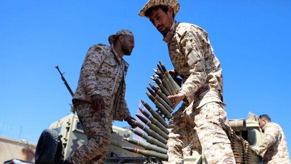 Libya Ulusal Mutabakat Hükümeti güçleri - Sputnik Türkiye
