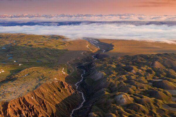 Hollandalı fotoğrafçının gözünden Kırgızistan manzaraları - Sputnik Türkiye