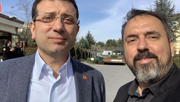 Ateş İlyas Başsoy - Ekrem İmamoğlu - Sputnik Türkiye