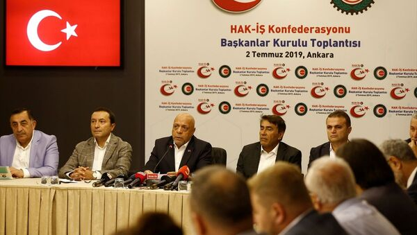Hak-İş Başkanlar Kurulu, Mahmut Arslan - Sputnik Türkiye