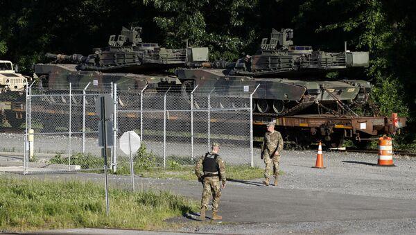 ABD Bağımsızlık Günü 4 Temmuz kutlamaları çerçevesinde Başkan Donald Trump'ın isteği üzerine tanklar sergilenecek. - Sputnik Türkiye